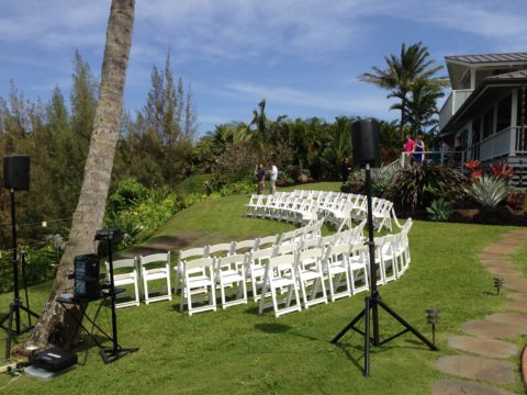 Sound for Ceremony on Location for Large Events