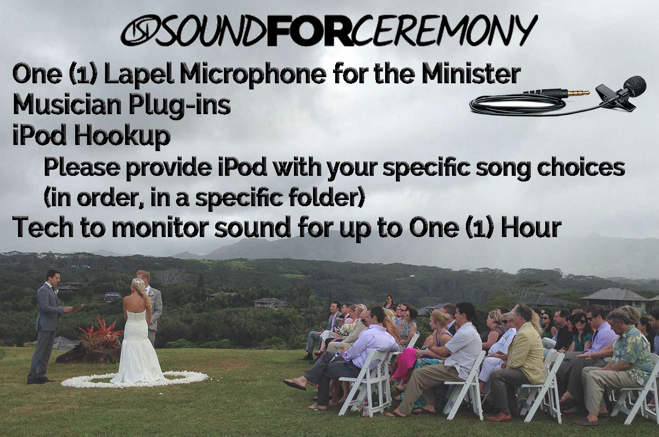 Graphic for Sound for Ceremony