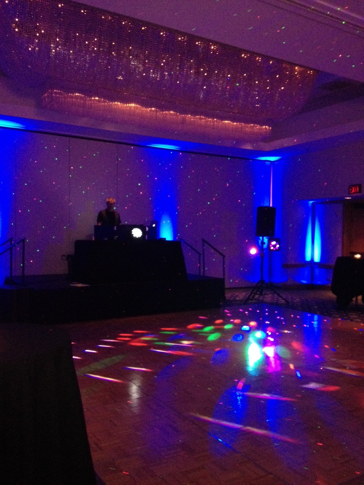 Sound Activated Colored Motion Dancefloor Lighting Kustom