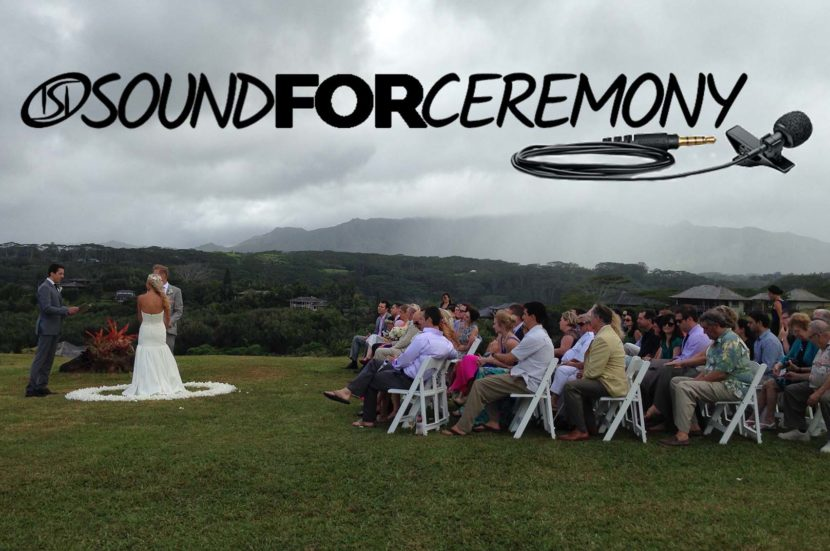 Sound for Ceremony