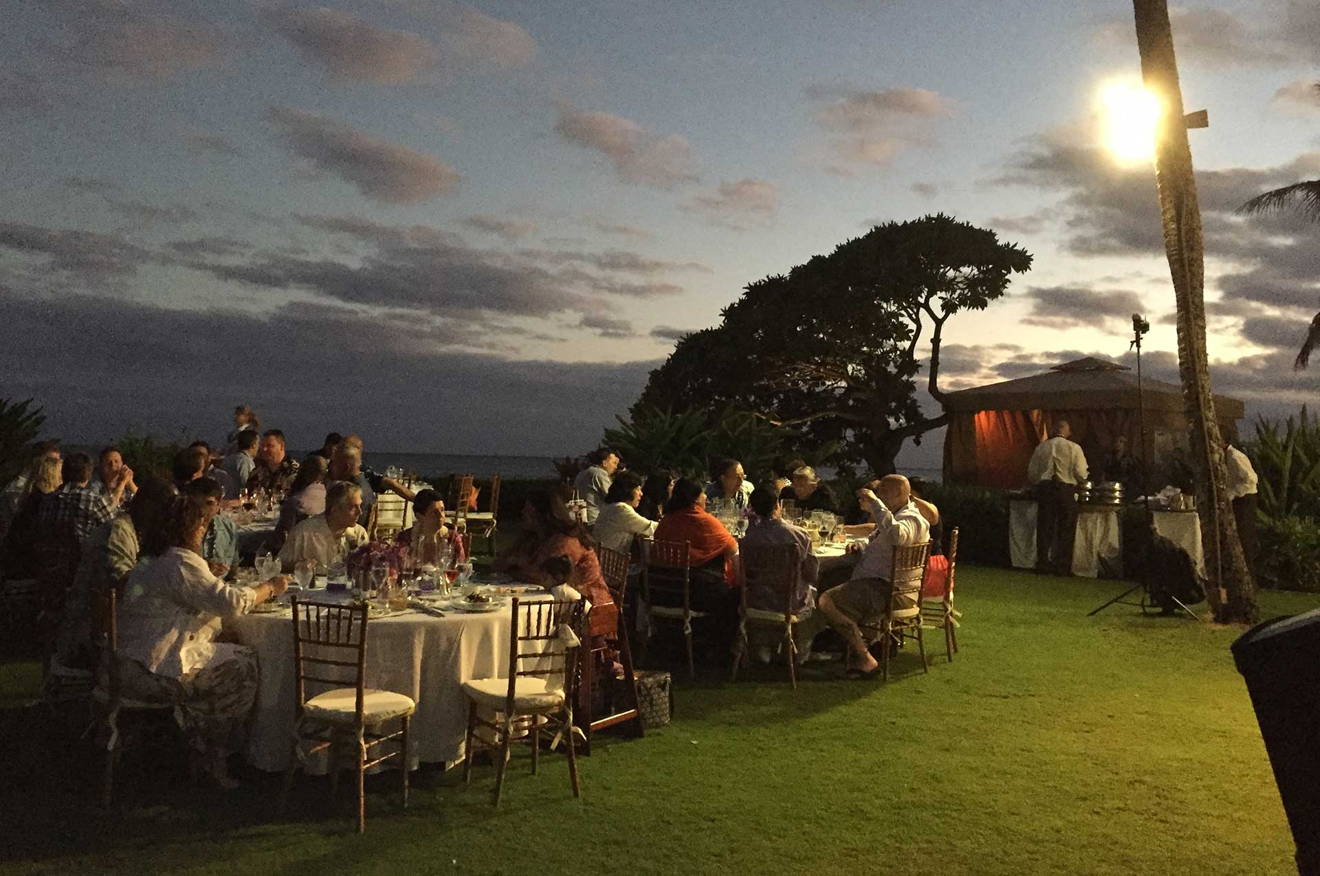 Intimate Outdoor Affair at Resolution Gardens, Grand Hyatt Kauai