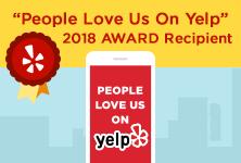 Yelp 2018 Award Recipient