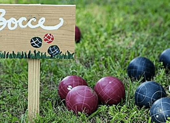 Lawn Games - Bocce